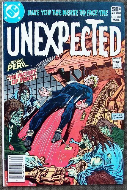 Comic DC Unexpected No 208 March 1981