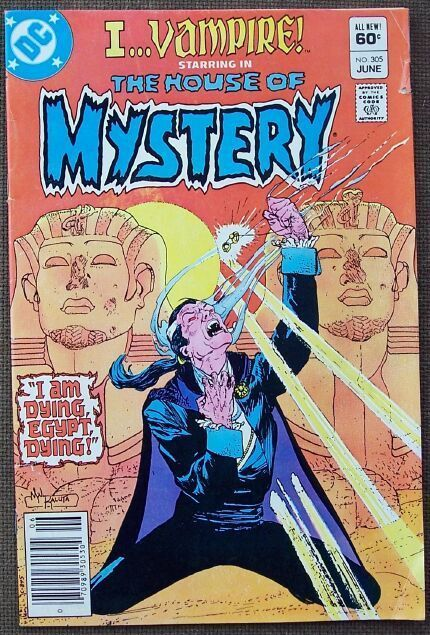 Comic DC The House of Mystery No 305 June 1982