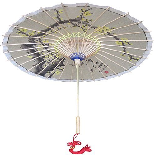 [Hand-painted Aroma] Rainproof Handmade Chinese Oil Paper Umbrella 33 inches