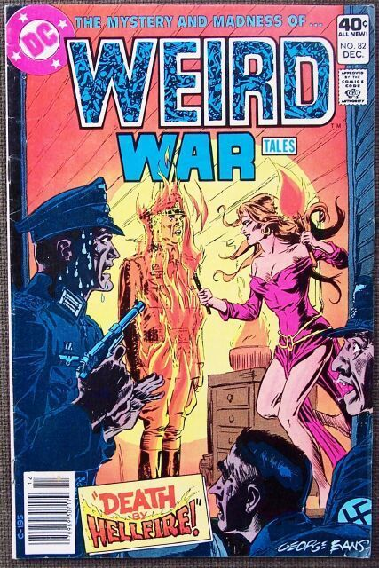 Comic DC Weird War Tales No 82 December 1979