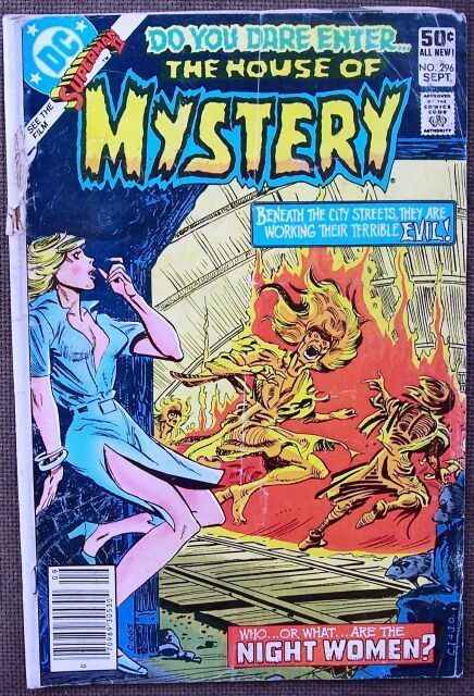 Comic DC The House of Mystery No 296 September 1981