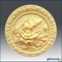 2D Silicone Soap Mold – Peony Garden - $26.00