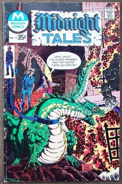 Comic Modern Midnight Tales  No 12 1978
