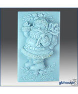 Silicone Soap Mold – Jolly Santa - $26.00