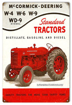 McCormick-Deering Tractors Construction Reproduction Country Sign 12x18 - $25.74