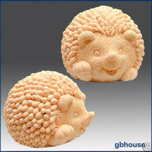 Silicone Soap & Candle Mold – 3D Hedgehog baby - $38.00