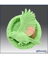 Silicone Soap Mold - Eagle in the Ring - $26.00