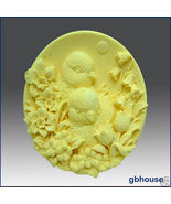 Baby Chicks with Flowers – Silicone Soap Mold - $26.00