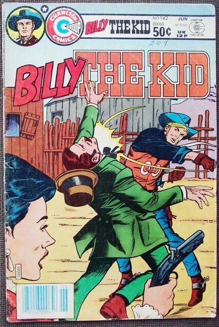 Comic Charlton Billy the Kid No 142 June 1981