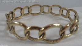 Bronze Oval Link Design Bangle - $38.00