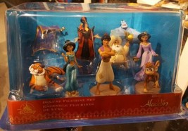 Disney Aladdin Figurine Set New in Box 100% AUTHENTIC toys great cake toppers  - $49.56