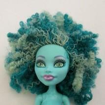 Monster High Honey Swamp Doll Green Streaked Curly Hair 2013 MH - $19.79