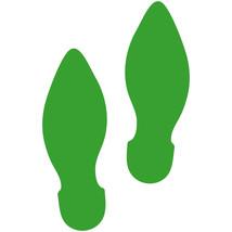 LiteMark Yellow Green Elf Footprint Decal Stickers - Pack of 12 - $19.95