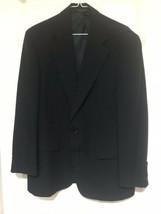 Palm Beach Hoskins Men's Blue Blazer Sport Coat Suit Jacket 40S 2 Buttons - $49.49