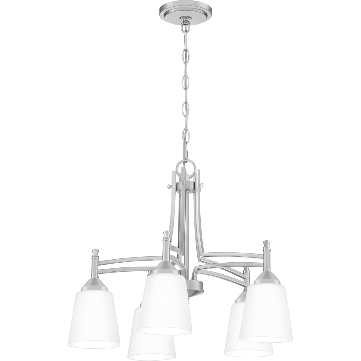 Primary image for Billingsley 5-Light Chandelier in Brushed Nickel