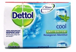 12 X Dettol COOL Anti-Bacterial Hygiene Hand and Body Bar Soap 12H 105g ... - $17.99