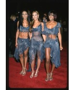 2001 DESTINY'S CHILD Candid Group Photo Original 35mm Slide Transparency - $12.69