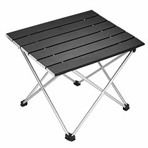 Portable Camping Table,Aluminum Folding Table Ultralight Camp Table with... - $34.98