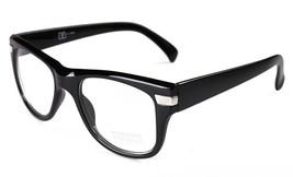 Sunscape Clark Dazed N Confused Shiny Black Adventurer Clear Lens Glasses