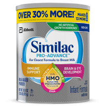 Similac Pro-Advance Infant Formula with Iron, with 2'-FL HMO, For Immune... - $53.82