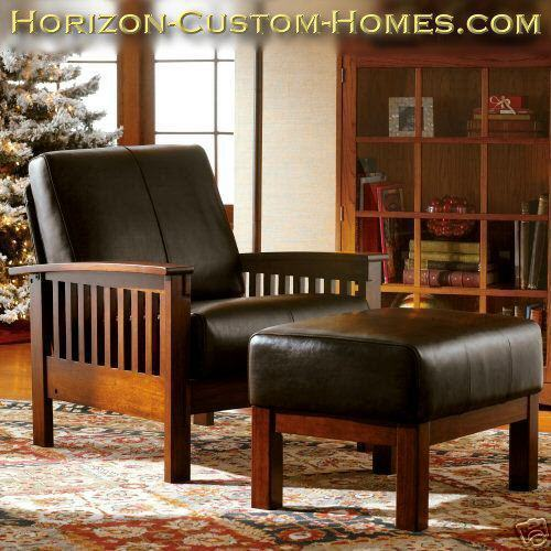 craftsman leather chair leather wood mission craftsman morris recliner chair chairs 13570 | f0bb 12