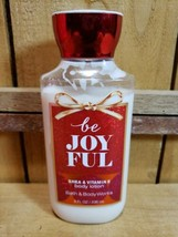 Bath and Body Works be JOYFUL 8oz Shea & Vitamin E Body Lotion 80% Full - $10.10