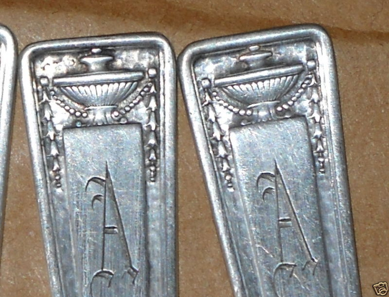 """Antique 1835 R.Wallace Buckingham fork- """"A"""" (7available"""
