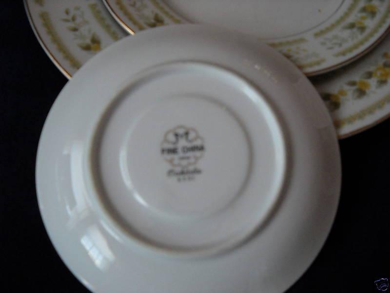 Mikasa Oakdale fruit/dessert bowls  (6 available)