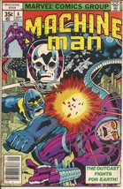 Marvel Machine Man #6 Outcast Fights For The Earth - $2.95
