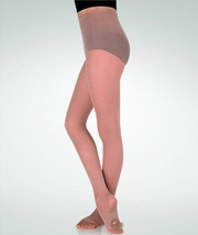 Body Wrappers A81 Jazzy Tan Women's Small/Medium Convertible Tights - $9.89