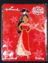 Hallmark Elena of Avalor flat metal Christmas ornament on card 2018 NEW - $6.76