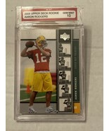 Aaron Rodgers 2005 Upper Deck Rookie Premiere #16 Rookie Card Gem Mint  10 - $98.95