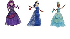 Disney Descendants Royal Yacht Ball Isle of the Lost Doll Set ~ packages... - $64.35
