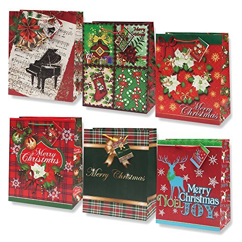 Gift Boutique Small Christmas Gift Bags Bulk Assortment ...