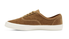 Brand New Mossimo Supply Co Women's Savannah Brown Tan Corduroy Sneakers  image 2