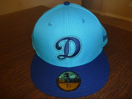 LOS ANGELES DODGERS NEW ERA 59FIFTY 2018 PLAYERS WEEKEND ON FIELD HAT Sz... - $24.99