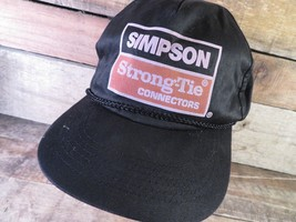 SIMPSON Strong-Tie Connectors Snapback Adjustable Adult Cap Hat - $12.86