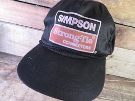 SIMPSON Strong-Tie Connectors Snapback Adjustable Adult Cap Hat - $12.86