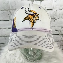 Reebok NFL Vikings Purple White Fitted Sz S/M Men's Ball Cap Hat Color F... - $11.87
