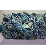 Vera Bradley Large Duffel Rhythm & Blues New - $1.471,06 MXN