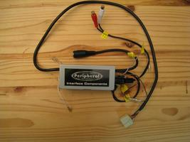 Peripheral HONASX Dual Aux input for select Honda & Acura vehicles - used - $19.95