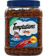 TEMPTATIONS Classic Cat Treats Savory Salmon Flavor, 30 oz. Tub - $20.99+
