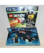 The Lego Movie Bad Cop + Police Car Fun Pack 62 Pieces 71213 Lego Dimens... - $13.85