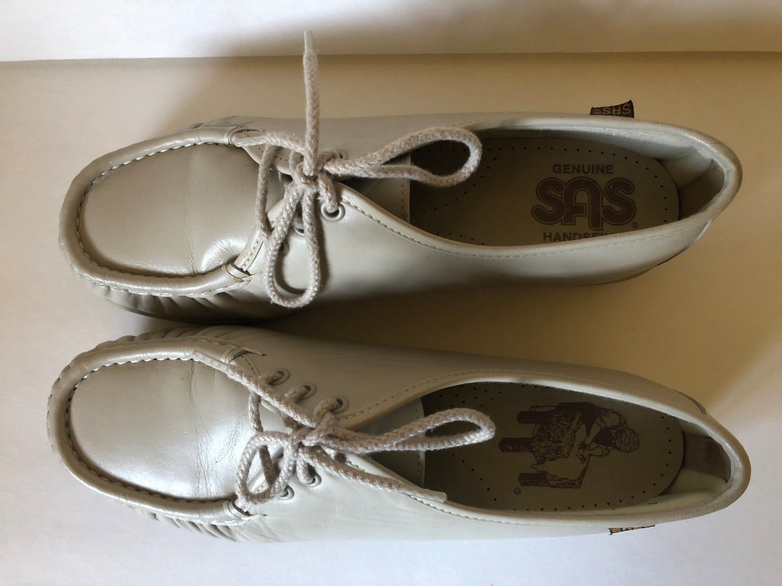 c2b96d7aed9a2c S l1600. S l1600. Previous. Genuine SAS Comfort Shoes Handsewn Leather Oxford  Lace Up Loafers Size ...