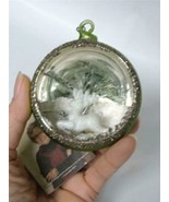 Bethany Lowe Xmas Traditional Indent Ornament Mercury Glass Reindeer Dio... - $14.84