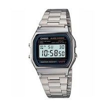 Casio A158WA-1 Wrist Watch for Men - $16.34