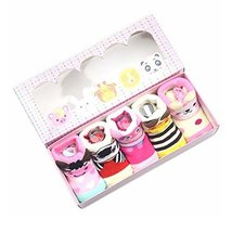 Creative Variety Socks Comfortable Thicken Newborn Socks Sets for Baby Girls