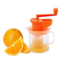 Portable Mini Machine Juicer Plastic Manual Orange Squeezer Home Kitchen... - $9.94