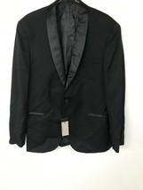 Kenneth Cole Reaction 男装s Satin Lapel Tuxedo 最佳 Black 42R - $69.65