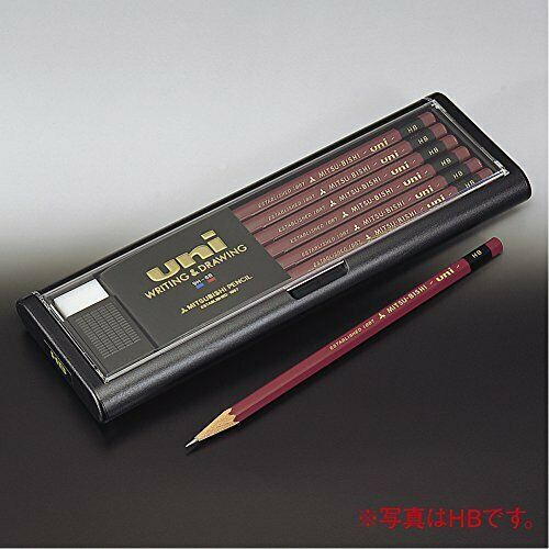 U5H Mitsubishi pencil Uni 5H 12 pieces